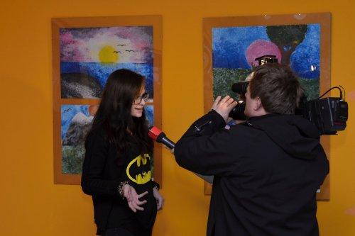 Výstava výtvarných prací studentů naší školy