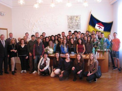 Ohlédnutí za výměnným  pobytem italských studentů