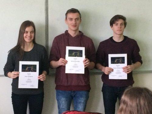 Okresní kolo konverzační soutěže z anglického jazyka
