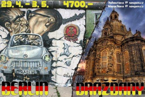 Jeďte s námi do Berlína a Drážďan