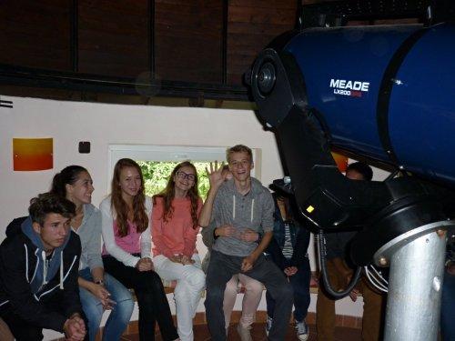 Studenti 1.G a 1.H navštívili hvězdárnu