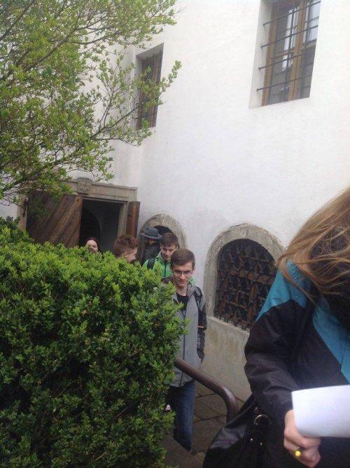 Naši studenti na terénním cvičení v Holešově