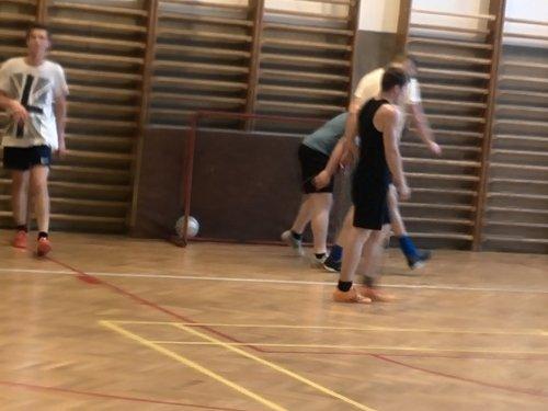 Futsalový zápas mezi DM Staré Město a DM Bzenec