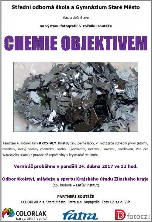 Vernisáž soutěže Chemie objektivem