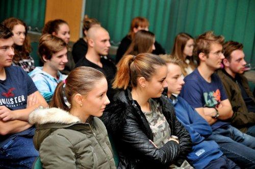 Návštěva investigativního žurnalisty zaujala žáky gymnázia