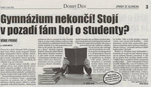 Gymnázium nekončí!