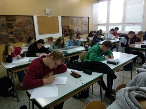 První FCE mock test na naší škole úspěšně za námi!
